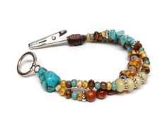 Roach clip bracelet. $14.00, via Etsy.