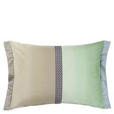Okumi Jade Throw Pillow | Designers Guild
