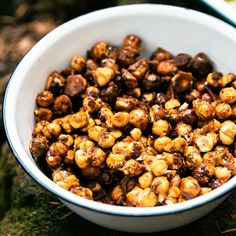 Candied Rosemary Hazelnuts - Killer Potluck Recipes for Appetizers - Sunset