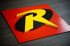 Arte de pared de 50% de descuento super héroe Robin de