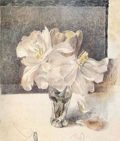 Clematis (1979) Horst Janssen, purchase Prints by this Artist