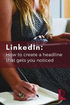 Your LinkedIn Headline is Your Personal Branding Tag->>>How to Create a Headline That Gets You Noticed! /redletterresume/ /chelseakrost/