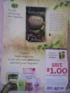 Bodycology Charmed Apple sample!