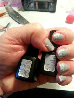 SensatioNail Colors #Afterfive #Silverglitter