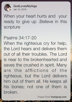 Believe and Trust in the promises of God and let them be experienced as the fruits of our faith and belief. Amen.