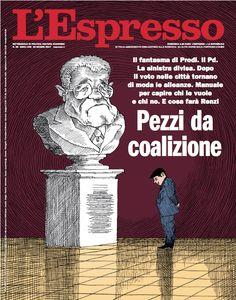 La copertina dell'Espresso in edicola da domenica 25 giugno
