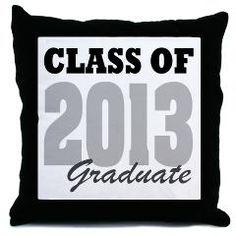 Graduation Idea- Have people sign pillow