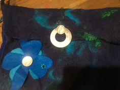 By pullofthemoondesigns Moon Design, Silk Ties, Fiber Art, Washer Necklace, Embellishments, Upcycle, Shells, Ipad, Felt