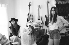 HAIM. Saw these girls as a support act for FATM at the O2 in London during 2012. Fantastic.  Watch out 2013!