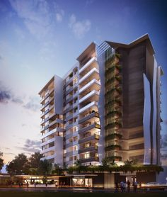 Stoneham Street // Apartment Living // Multi Residential // Architecture // Interior Design // Brisbane // Queensland // Designed by Ellivo Architects www.ellivo.com