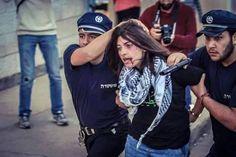 celebrating women's day in Palestine