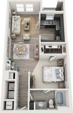 Sims 4 House Plans, House Layout Plans, Small House Plans, House Layouts, House Floor Design, Sims 4 House Design, Small House Design, Home Building Design, Home Room Design
