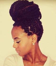 Love This Bun - http://www.blackhairinformation.com/community/hairstyle-gallery/braids-twists/love-bun/ #braidsandtwists
