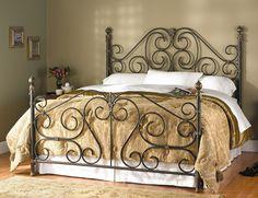 Wesley Allen iron beds.