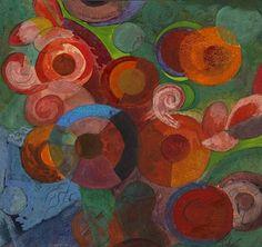 Fritz Schaefler  Abstract Composition  1920