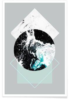 Geometric Textures 2 als Premium Poster von Mareike Böhmer | JUNIQE
