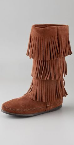 I have wanted three layered brown suede moccasins for SO LONG now. At least 3 years. Can someone please convince me to buy these? They're even on sale on Amazon!