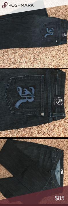 Rock & Republic 31/33 jeans Rock & Republic dark was boot cut jeans. Perfect condition. Size 31 and 33 inseam. No trades. No lowballs. Rock & Republic Jeans Boot Cut