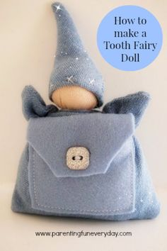 how to make a tooth fairy doll pm