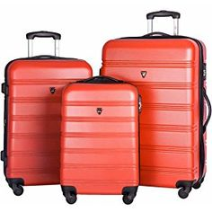 Merax carry on luggage 3 Piece Luggage Set, Small Luggage, Best Luggage, Carry On Luggage, Suitcase Set, Spinner Suitcase, Cooler Reviews, Samsonite Luggage, Hardside Luggage