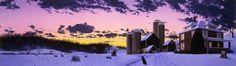 """December Evening"" Open Edition - The Paintings of Steven Kozar"