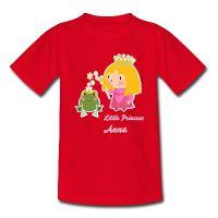 Little Princess T-Shirt from Spreadshirt. Gift idea for kids.