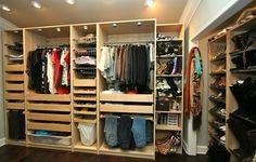 IKEA Pax wardrobe organizing system