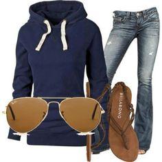 2014 fashion outfits - Casual and comfortable outfits Looks Street Style, Looks Style, Look Fashion, Fashion Outfits, Womens Fashion, Fashion 2014, Street Fashion, Fashion Ideas, Fall Fashion