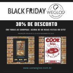 Hoje e amanhã, últimos dois dias para aproveitar a Black Friday estendida da Wegloo... Corre pro site e garanta 30% de desconto!🏃🏃🏃www.usewegloo.com.br    #BlackFriday  #wegloo #usewegloo #beaglooer #glooyoutoo  #shop #shoponline #compraonline #compras #shipping #frete