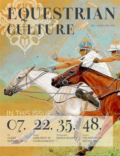Equestrian Culture Fall Issue 9/2013