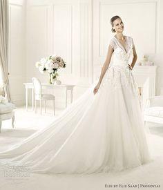 elie by elie saab wedding dress 2013 pronovias denisse gown