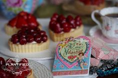 Valentines Tarte Aux Fruits (Vegan, Egg free, Dairy Free, Gelatine Free)