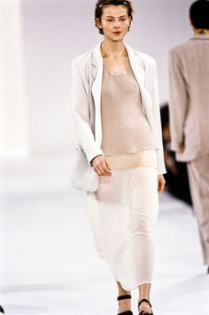 Calvin Klein Collection Spring 1994 Ready-to-Wear Fashion Show