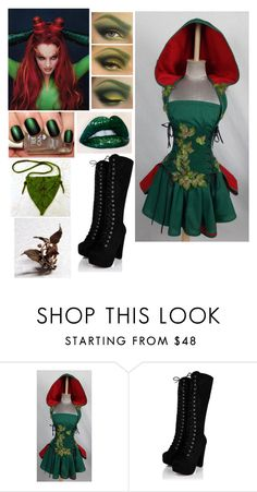 """""""poison ivy"""" by pickle818 ❤ liked on Polyvore"""