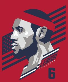 LeBron James by Japanese art design studio Power Graphixx