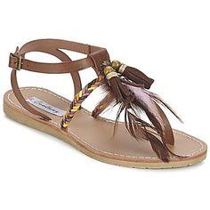 Sandales+et+Nu-pieds+Coolway+MELROSE+Marron+34.99+€