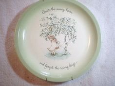 i have this one i cant wait to display it! Holly Hobbie plate Count the Happy hours