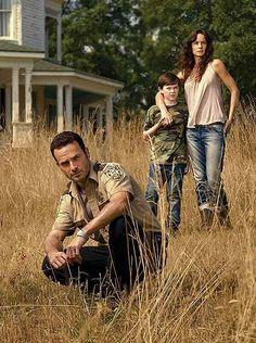 TWD - season 2 Rick, Carl and Lori