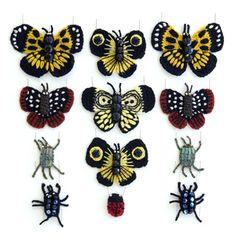 crochet butterflies #crochetbutterflies