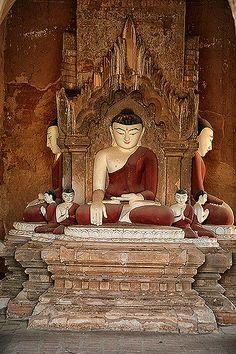 Buddha in Bagan, Myanmar (Burma) | One of the many beautiful… | Flickr
