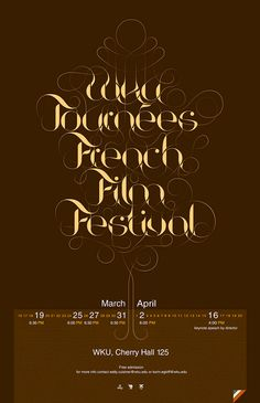 Stunning Typography Posters