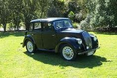 My grandads first car ! A morris eight.