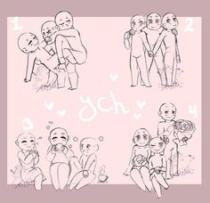 (closed tysm) ych - my by LobaMagica on DeviantArt Ship Drawing, Drawing Base, Couple Drawings, Art Drawings Sketches, Drawing Templates, Drawing Expressions, Art Base, Drawing Reference Poses, Drawing Challenge