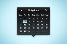 66 Beautiful Free Calendar PSD Designs