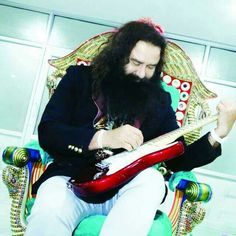 Best Musician !! Gurmeet Ram Rahim is a multi talented personality.