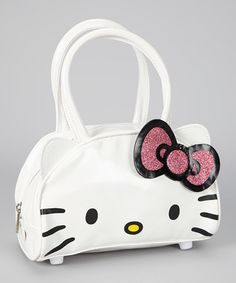 Take a look at this Hello Kitty Cutout Satchel by Hello Kitty on  zulily  today 9ee2400168e4b