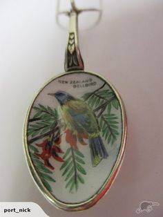 Beautiful Bellbird necklace