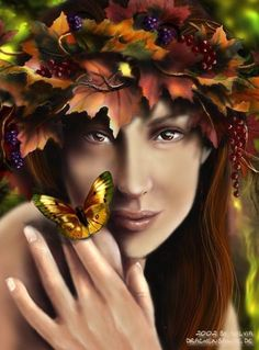 Autumn Fairy ~ by Sylvia Koerner