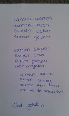 liefdesgedicht samenwonen - Google zoeken The Words, Love You, My Love, Verse, Good Thoughts, Love Letters, Love Life, Beautiful Words, Card Making