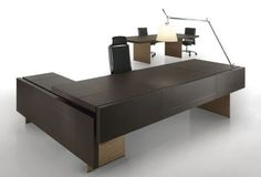 Contemporary executive wooden office desk THE ELEMENT Uffix Concept by Uffix